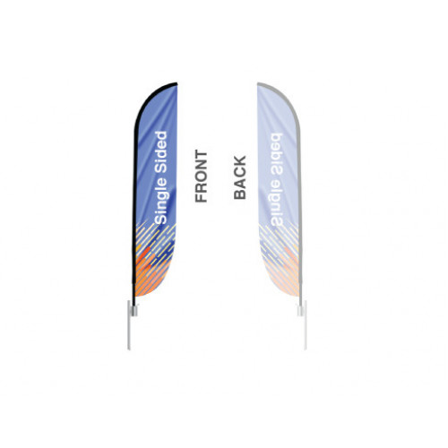 Feather Convex Flag (Large)