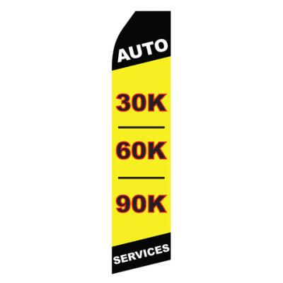 Auto 30K 60K 90K Services Econo Stock Flag