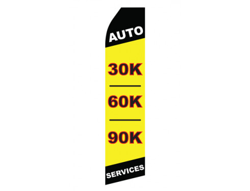 Auto 30K 60K 90K Services Econo Stock Flag