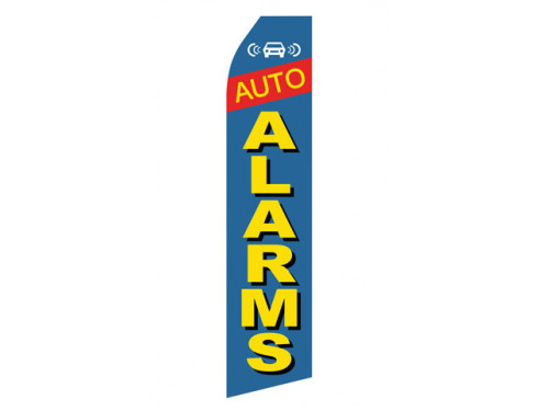 Auto Alarms Econo Stock Flag