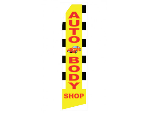 Auto Body Shop Econo Stock Flag