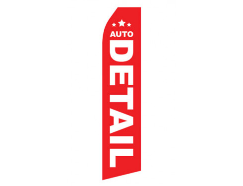 Auto Detail Econo Stock Flag