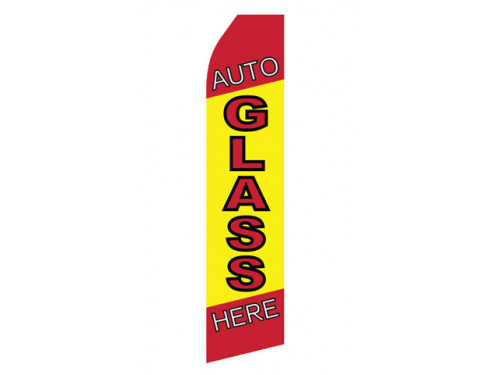 Auto Glass Service Econo Stock Flag