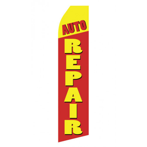 Auto Repair Econo Stock Flag