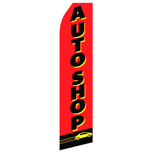 Auto Shop Econo Stock Flag