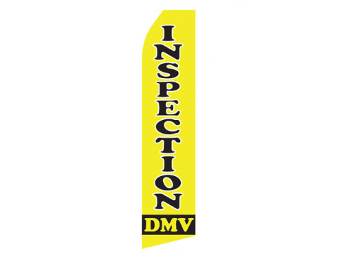 DMV Inspection Econo Stock Flag