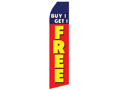 Buy One Get One Free Econo Stock Flag