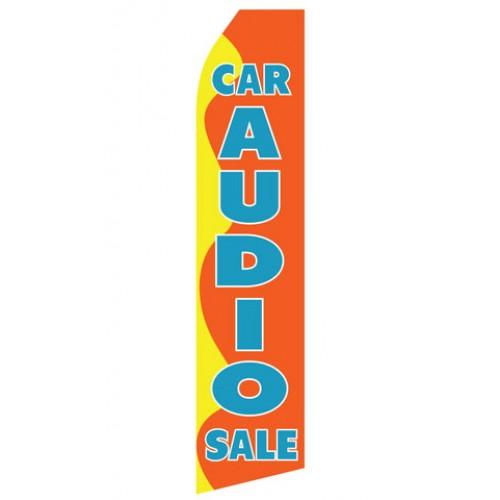 Car Audio Sale Econo Stock Flag