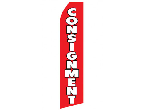Consignment Econo Stock Flag