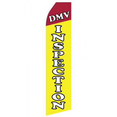 DMV Inspection Econo Stock Flag