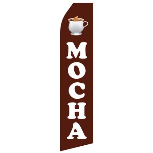 Mocha Econo Stock Flag