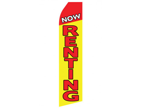 Now Renting Econo Stock Flag