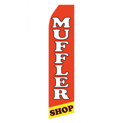Muffler Shop Econo Stock Flag