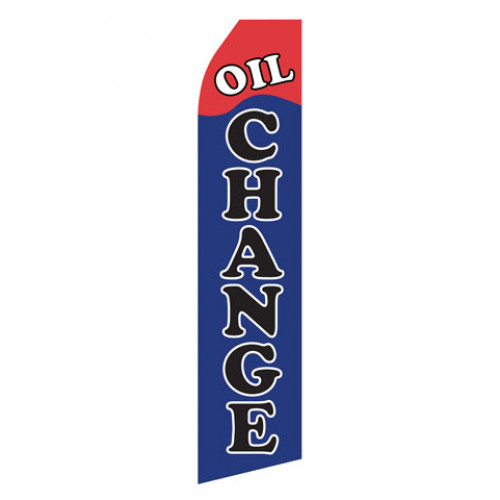 Oil Change Econo Stock Flag