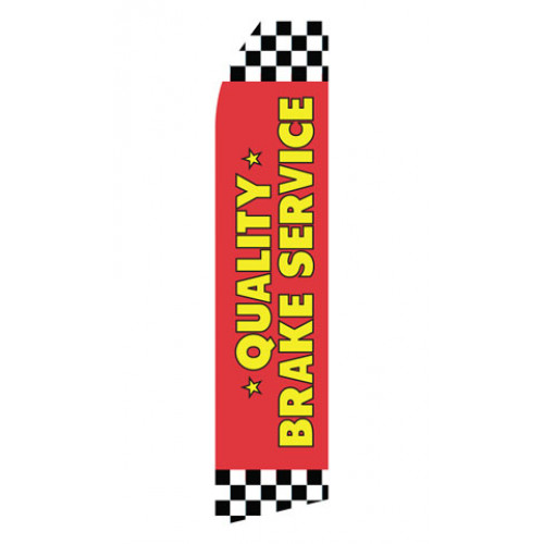 Quality Brake Service Econo Stock Flag