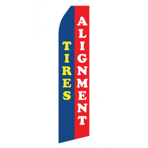 Tires Alignment Econo Stock Flag