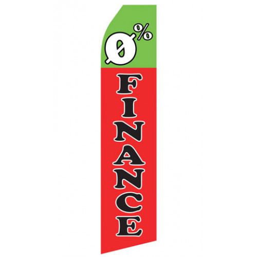 0% Finance Econo Stock Flag