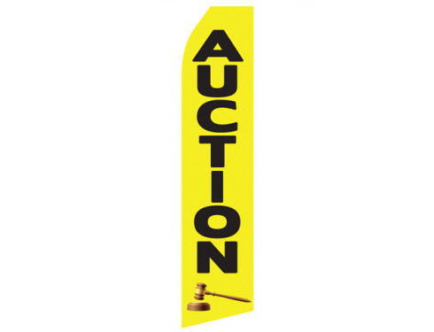 Auction Econo Stock Flag