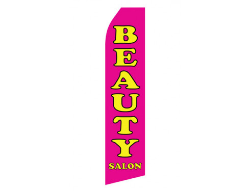 Beauty Salon Econo Stock Flag