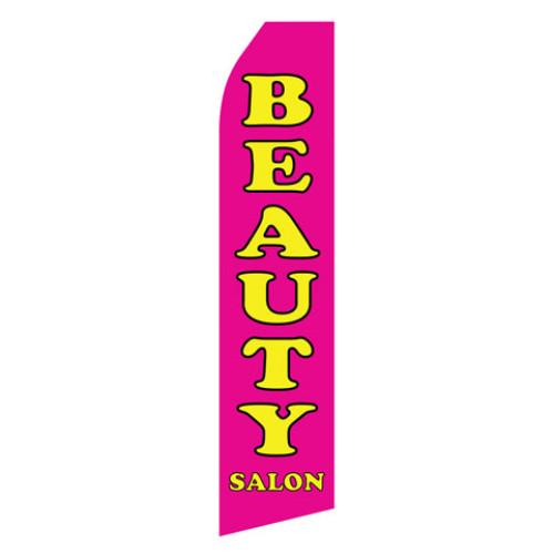 Beauty Salon Econo Stock Flag
