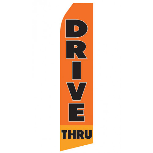 Drive Thru Econo Stock Flag