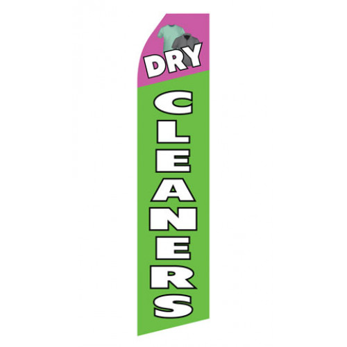 Dry Cleaning Service Econo Stock Flag