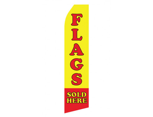 Flags Sold Here Econo Stock Flag