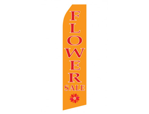 Flower Sale Econo Stock Flag
