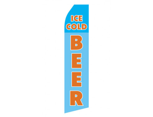 Ice Cold Beer Econo Stock Flag