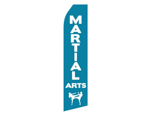 Martial Arts Econo Stock Flag