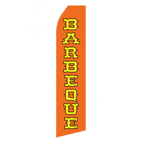 Orange Barbeque Econo Stock Flag