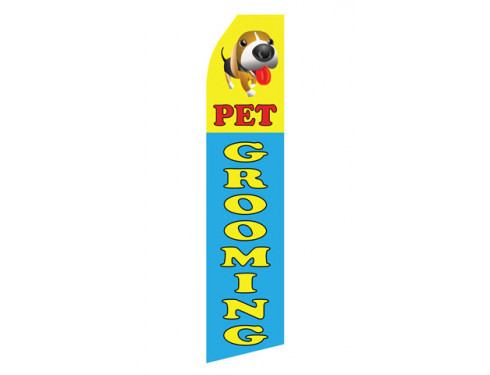 Pet Grooming Econo Stock Flag