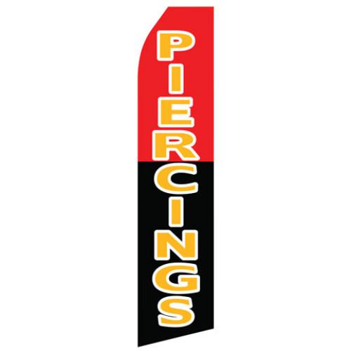 Piercings Econo Stock Flag