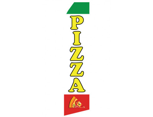 Pizza Econo Stock Flag