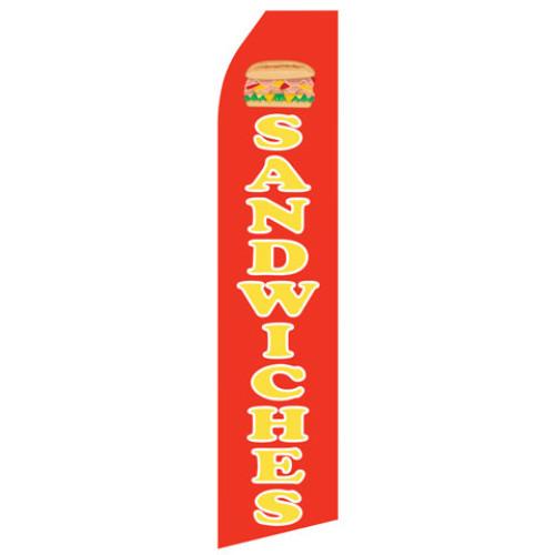 Sandwiches Econo Stock Flag