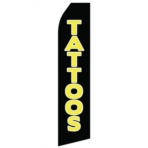 Tattoos Econo Stock Flag