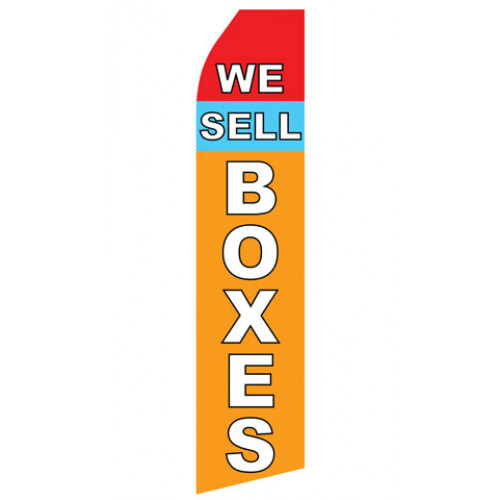 We Sell Boxes Econo Stock Flag