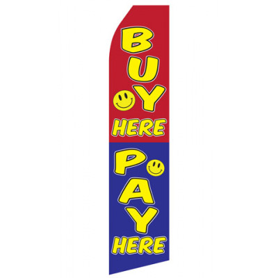 Buy Here Pay Here Econo Stock Flag