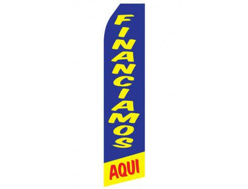 Financiamos Aqui Econo Stock Flag