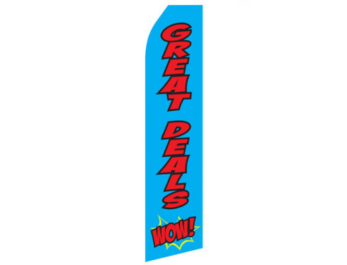 Great Deals WOW! Econo Stock Flag