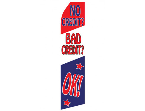 No Credit/Bad Credit OK! Econo Stock Flag