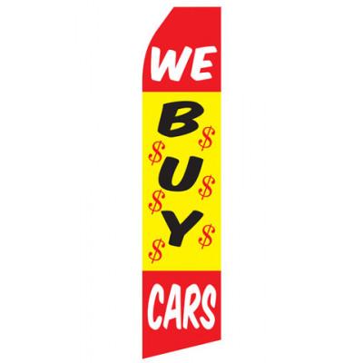 We Buy Cars Econo Stock Flag