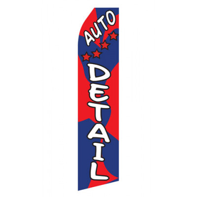Auto Detailing Service Econo Stock Flag