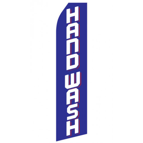 Hand Wash Econo Stock Flag