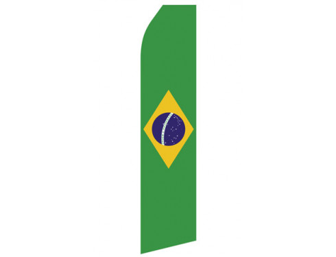 Brazilian Flag Econo Stock Flag