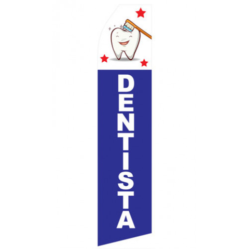 Dentista Econo Stock Flag