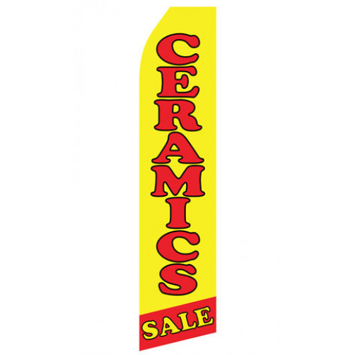 Ceramic Sale Econo Stock Flag