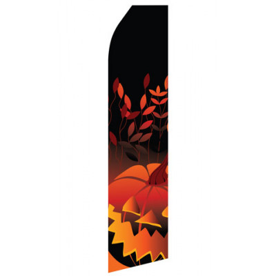 Halloween Pumpkin Econo Stock Flag