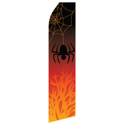 Halloween Spider Econo Stock Flag