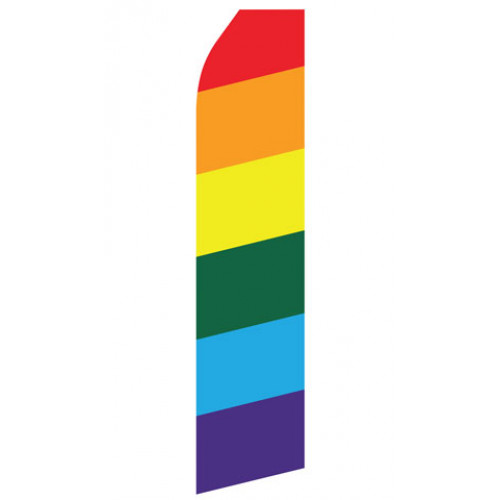 Rainbow Econo Stock Flag